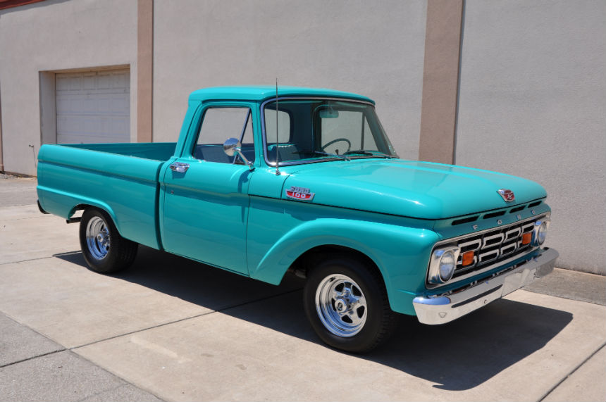 1964 Trucks Ford F100 Custom Cabon 1960 Ford F100 Pickup Truck