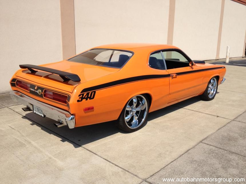 Pro Touring Wheels And Tires >> 1972 Duster 340 4 speed | Autobahn