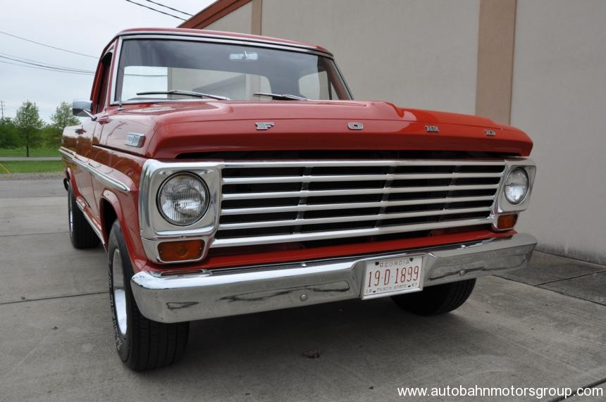 1967 ford f100 ranger autobahn for Autobahn body and paint