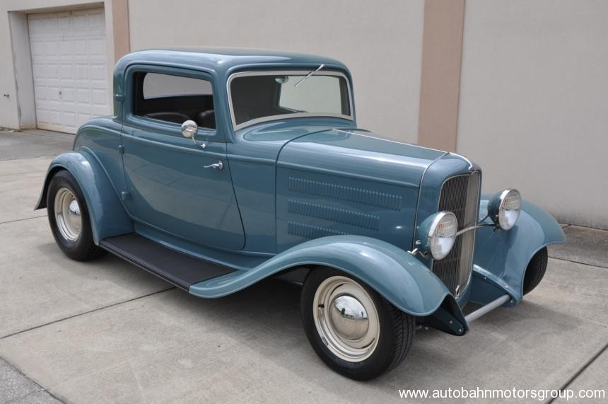 1932 ford 3 window coupe autobahn for 1932 three window coupe for sale