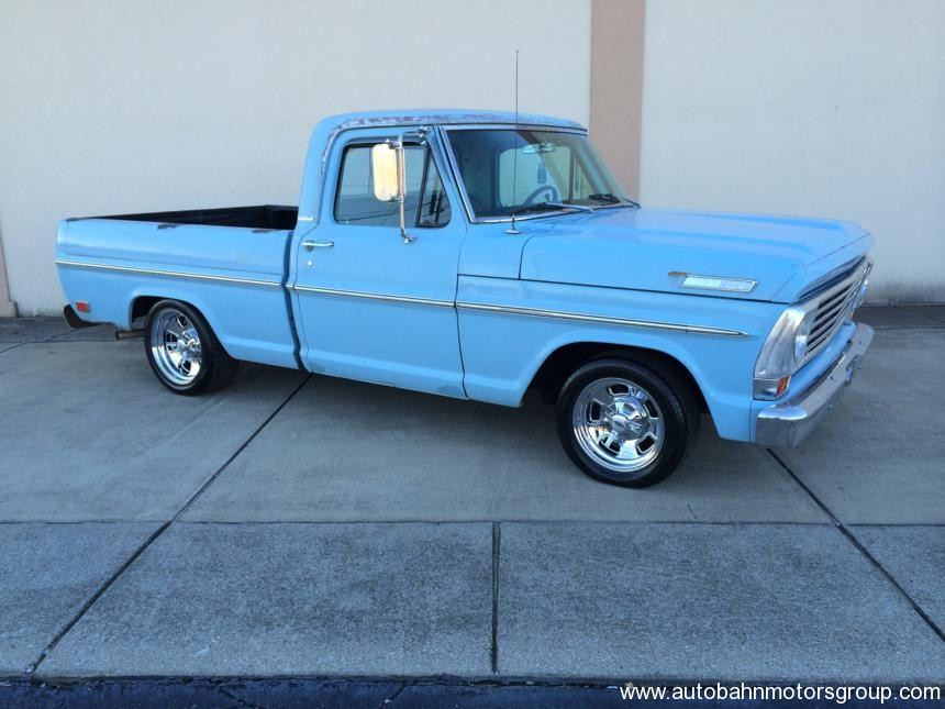 1968 ford f100 swb project autobahnautobahn ford f 100 56 ford f100 on